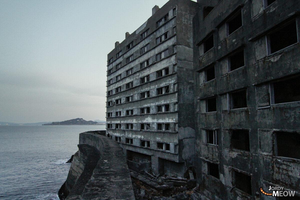 Hashima Island - Arrival
