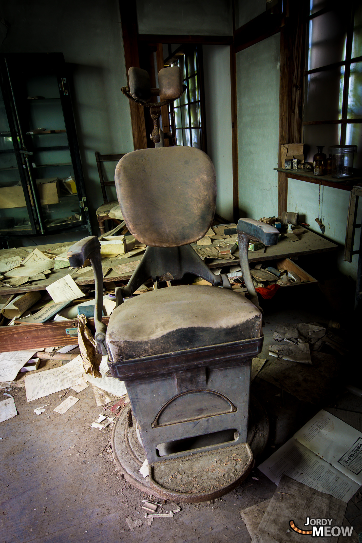 Abandoned Hospitals - The Hellish Chair