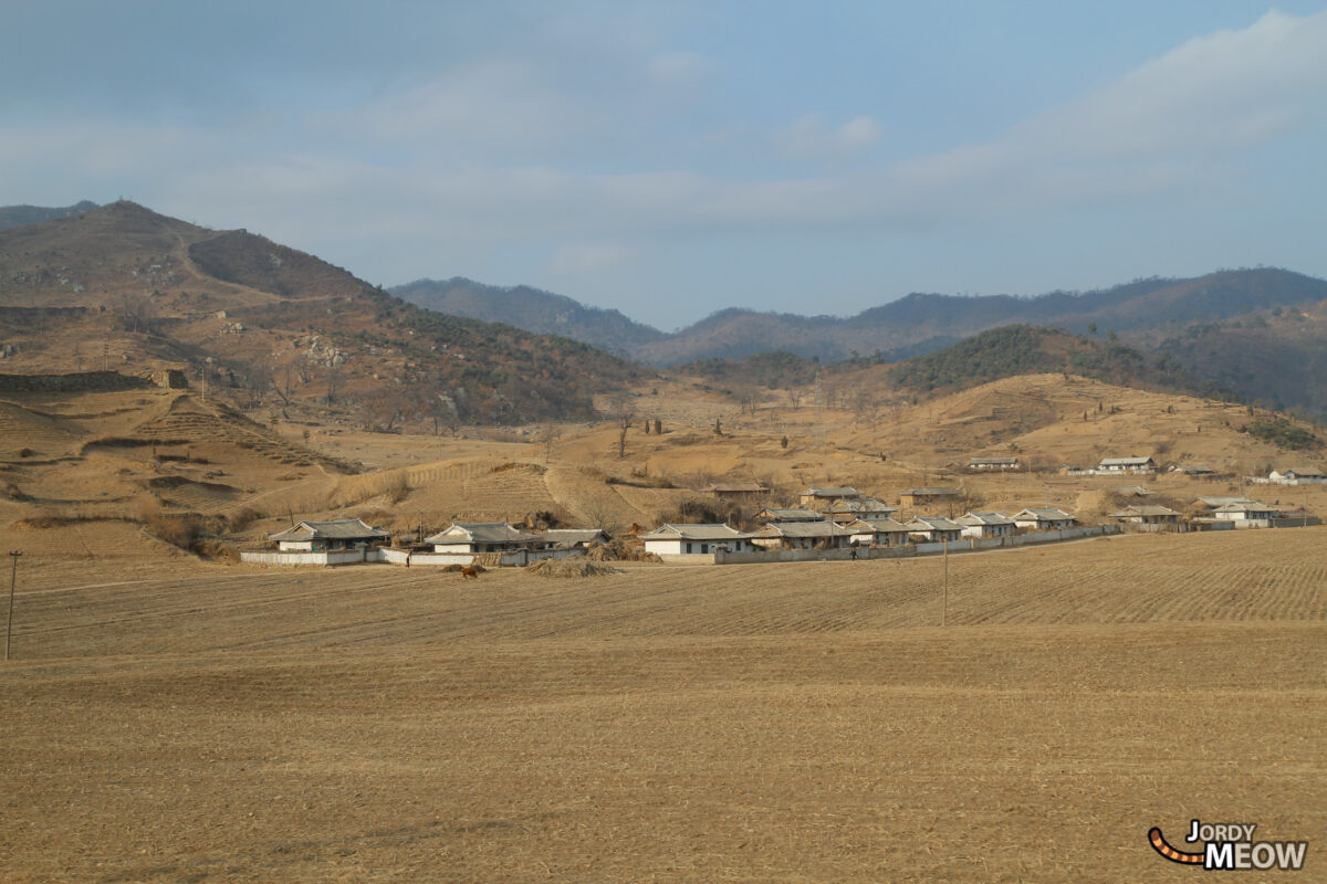 Village in North Korea