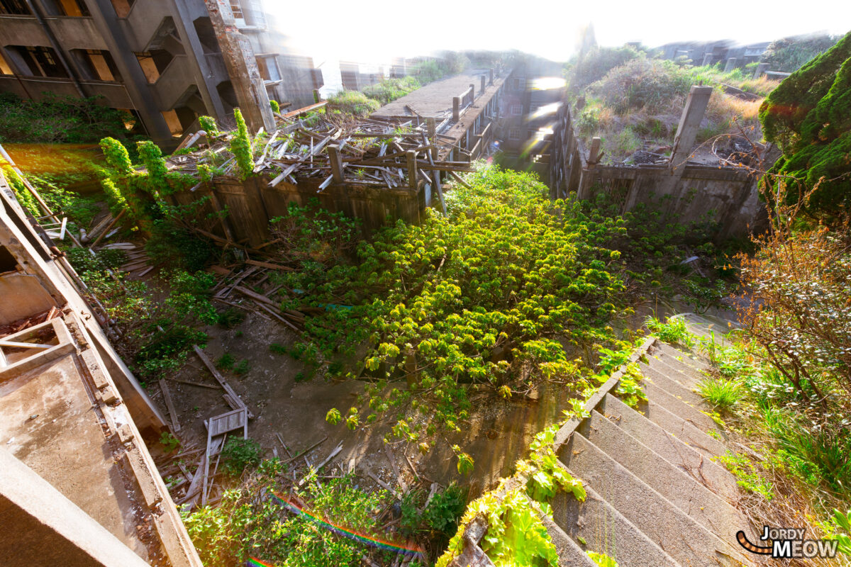 Fantastic Light on Gunkanjima