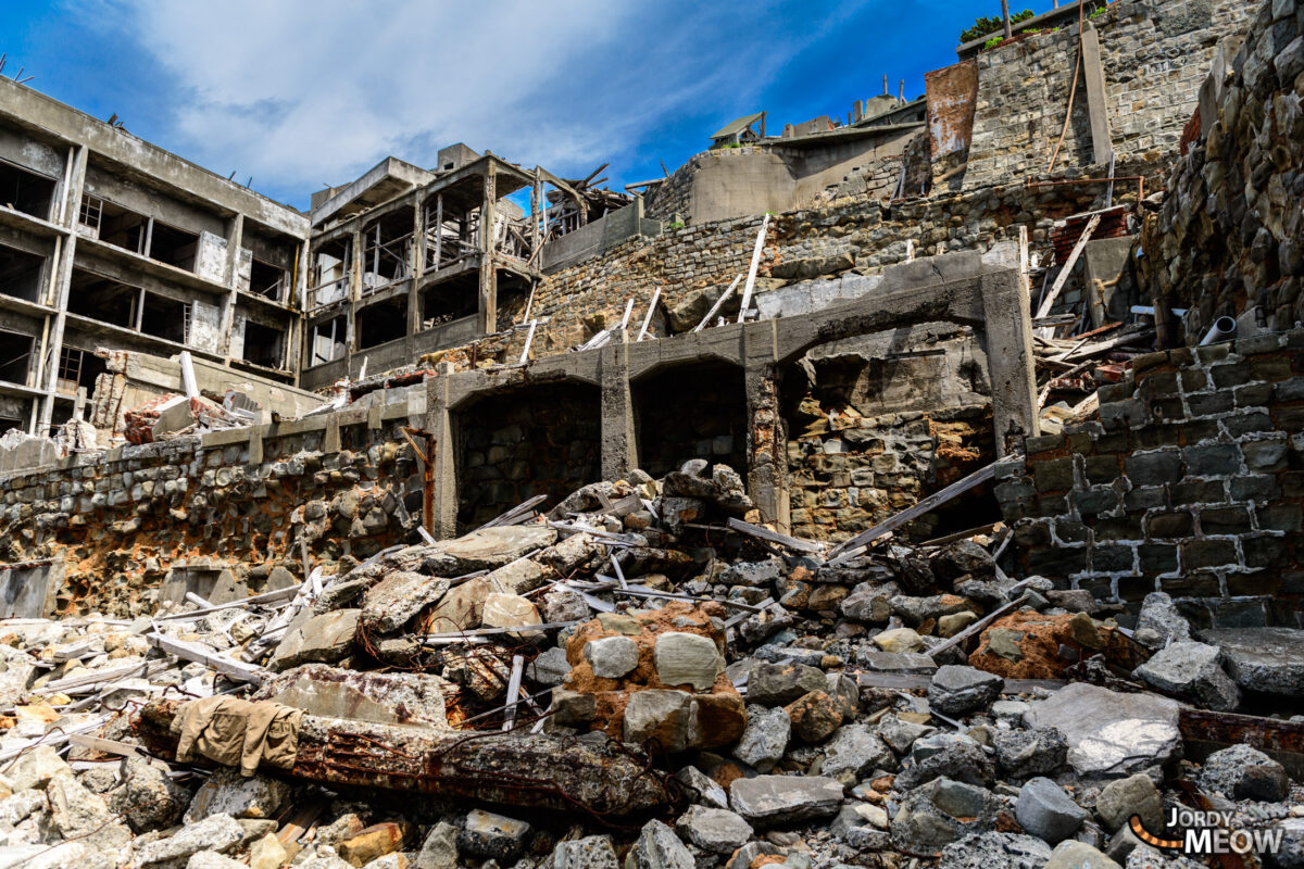 Senfukuji Sect and Nurses Dormitory on Gunkanjima