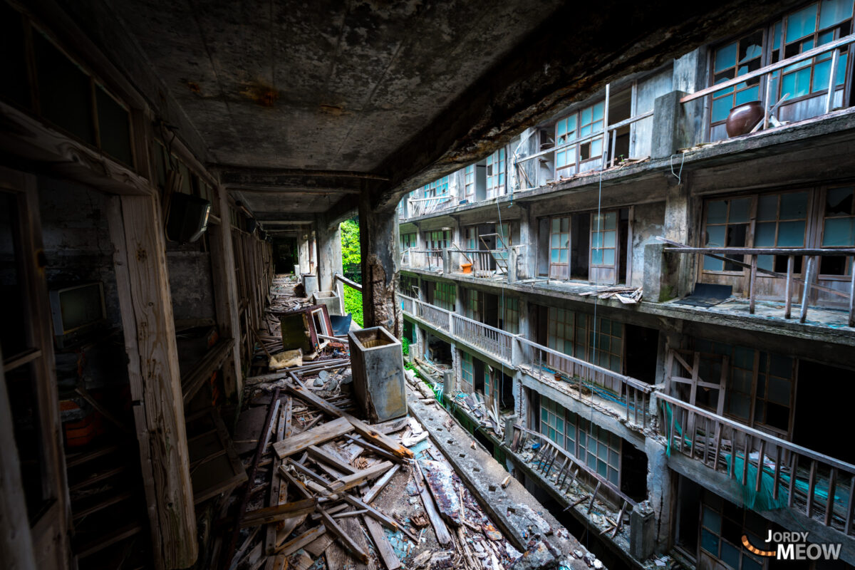 Scary Hashima Apartments