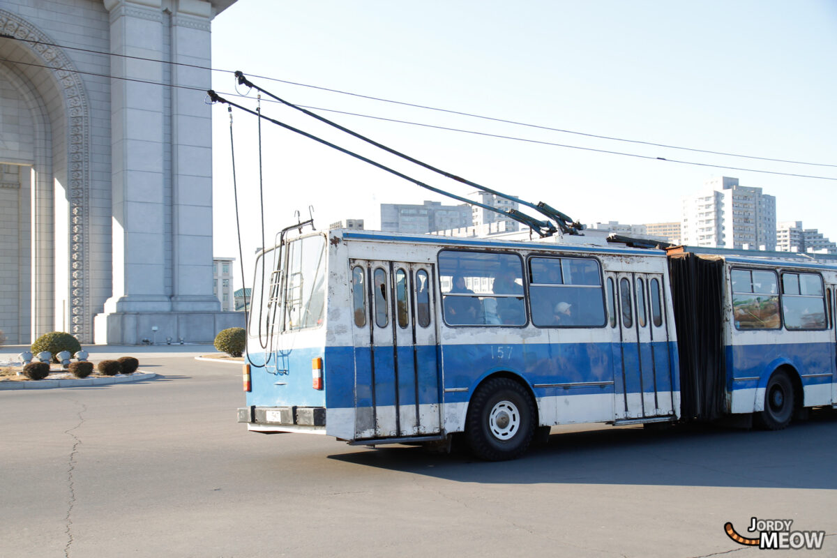 Trolley Bus in Pyongyang