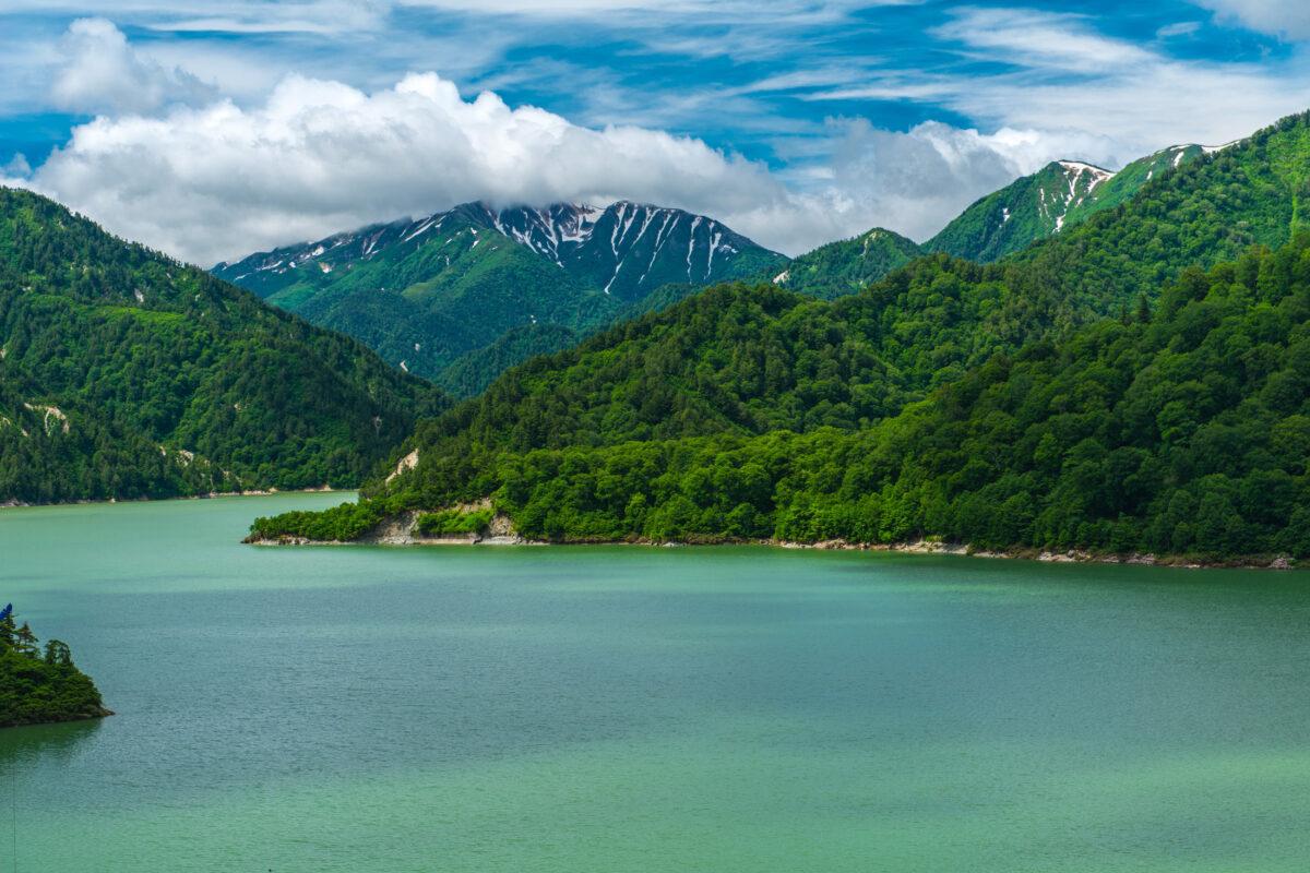 Beautiful Lake of Kurobe