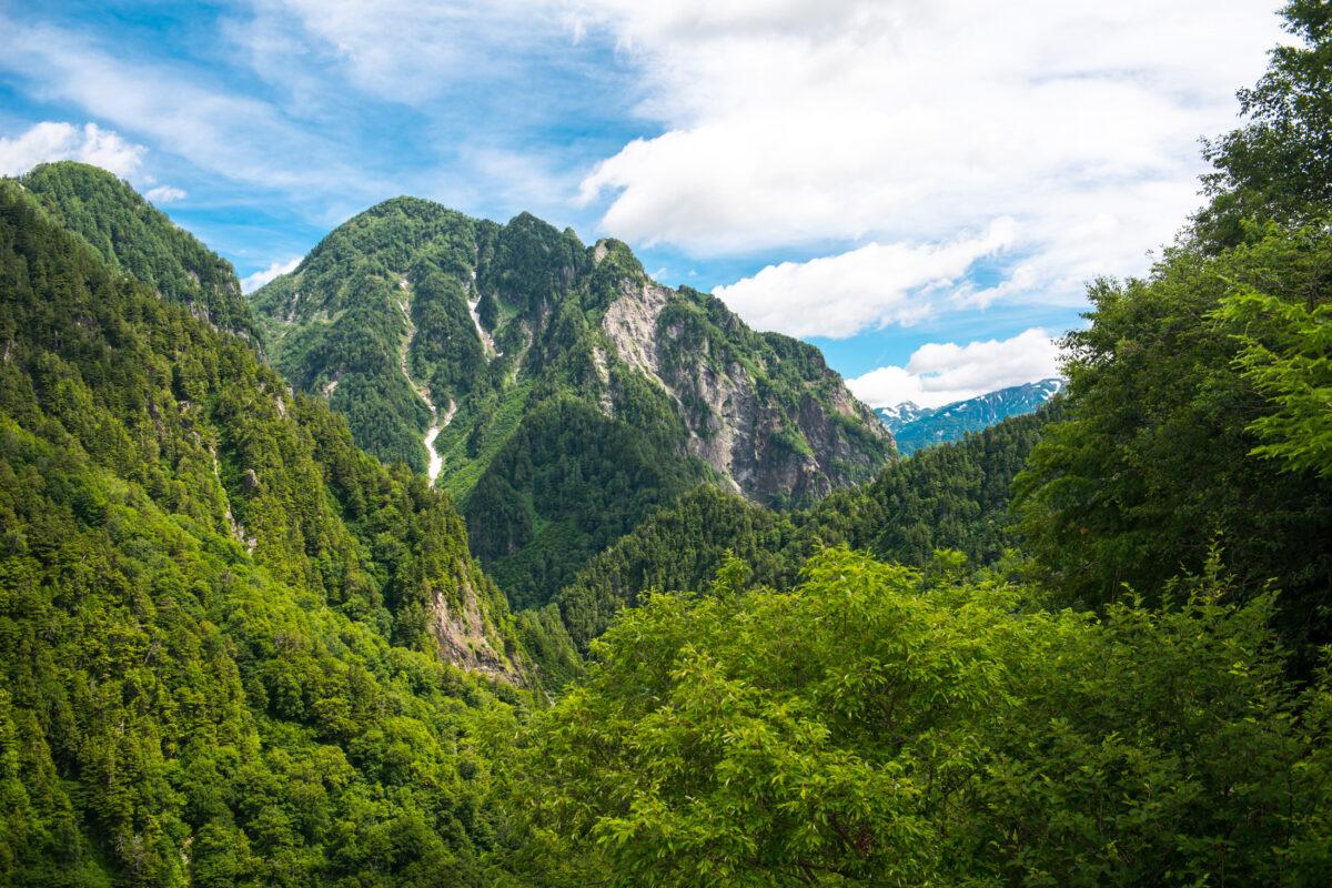 Japanese Alps at Kurobe