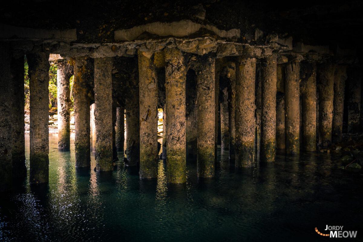 Gunkanjima Pillars