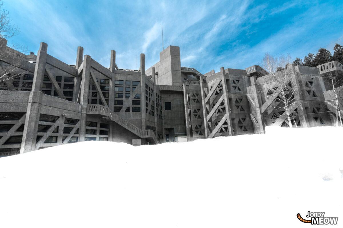 Abandoned Futuristic Building
