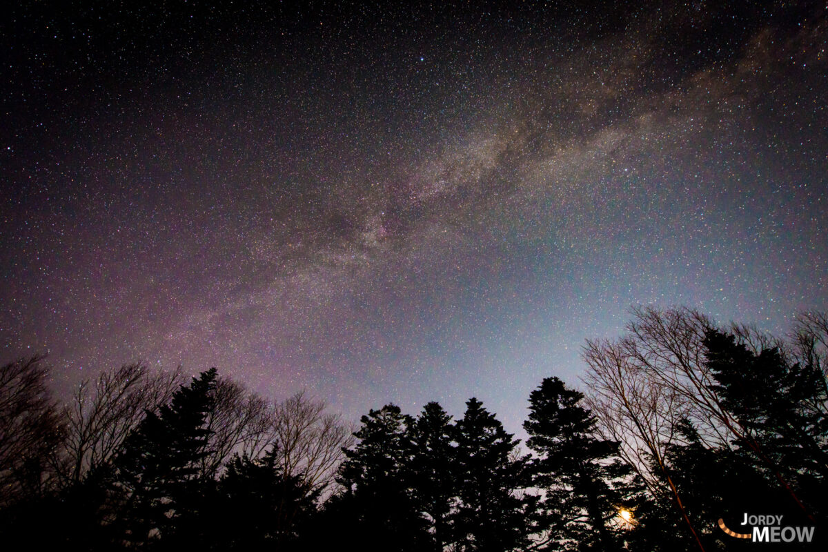 The Milky Way in Gunma.
