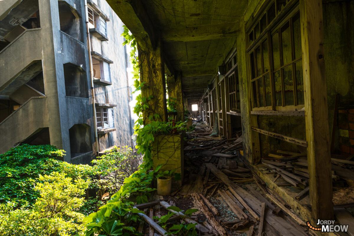 Gunkanjima: Wood & Concrete