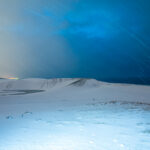 Tottori Dune with the Snow
